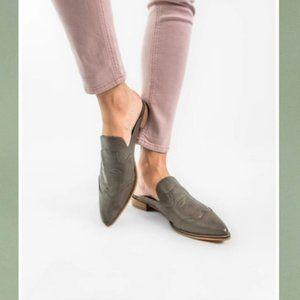 Mi.iM Kendrick Pointed Toe Mule Slip On Shoes NIB